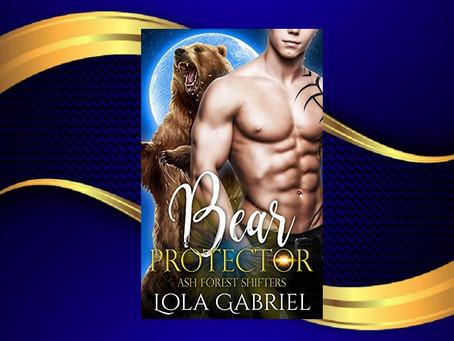 Book Birthday – Bear Protector – Lola Gabriel