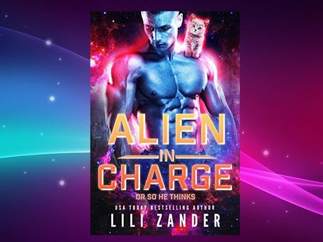 Book Birthday – Alien in Charge – Lili Zander