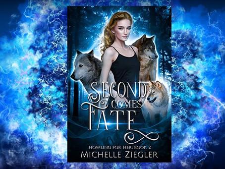 Book Birthday – Second Comes Fate – Michelle Ziegler