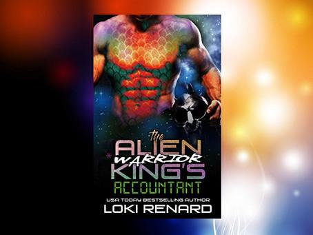 Book Birthday – The Alien Warrior King's Accountant – Loki Renard