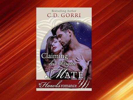 Book Birthday – Claiming His Virgin Mate – C.D. Gorri