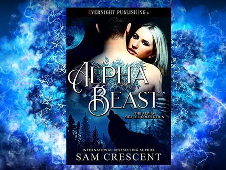 Book Birthday – Alpha Beast – Sam Crescent
