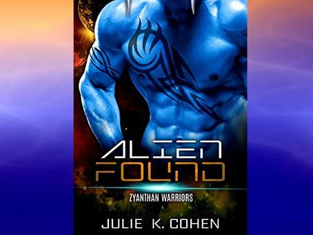 Book Birthday – Alien Found – Julie K. Cohen