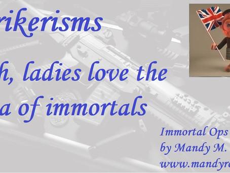 Strikerisms – Immortal Ops World – Mandy M. Roth