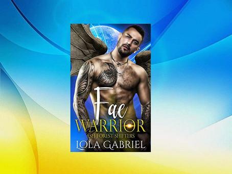 Book Birthday – Fae Warrior – Lola Gabriel