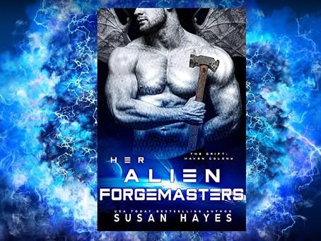 Book Birthday – Her Alien Forgemasters – Susan Hayes