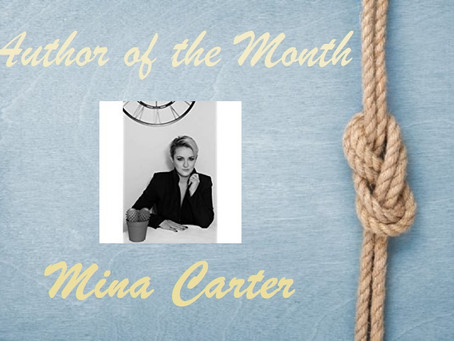 Author of the Month – June 2021 – Mina Carter