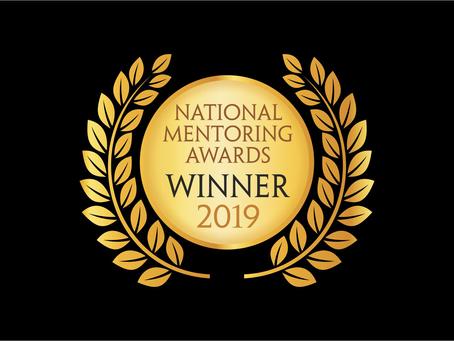 GLAM Founder Wins National STEM Mentoring Award