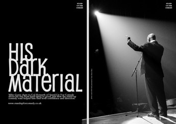 HIS DARK MATERIAL: Mike Gunn