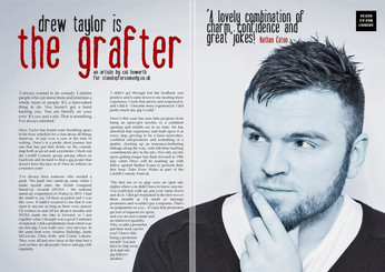 DREW TAYLOR is THE GRAFTER!