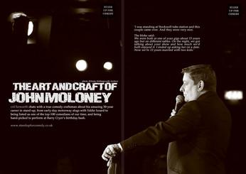 The ART and CRAFT of John Moloney