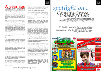 Spotlight: Exeter Comedy Grove