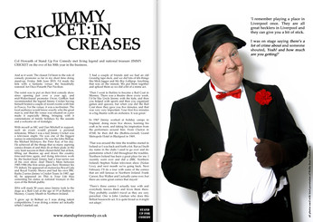In Creases : Jimmy Cricket!