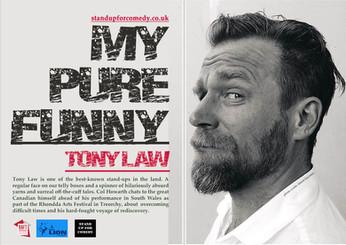 My Pure Funny: Tony Law