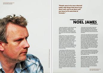 shambolic/fantastic : noel james