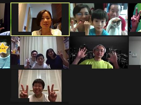 オンライン家族会を開催しました!