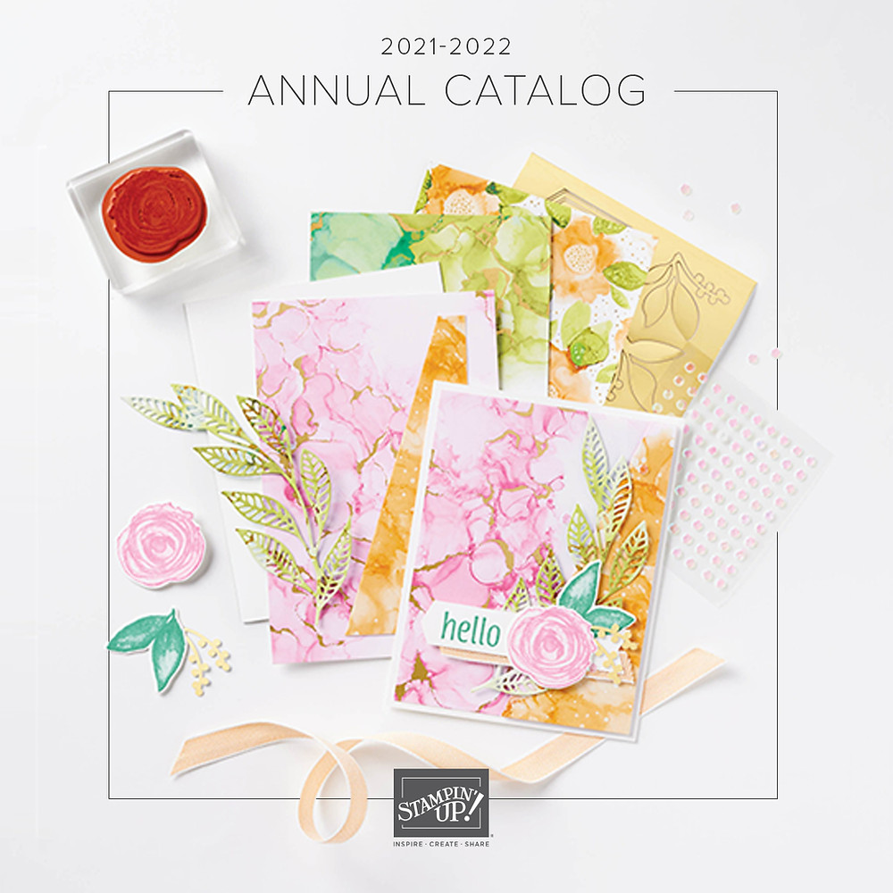 Stampin' Up! Annual Catalog - Stampin' Up! 2021-2022 Annual Catalog - The Stamping Nook - Krista Cleary-Yagci