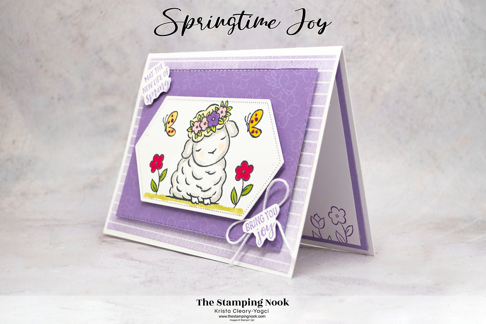 Stampin' Up! Card Ideas - Stampin Up Card Ideas - Springtime Joy Stamp Set - Springtime Joy Card Ideas - Springtime Joy Stampin Up - The Stamping Nook - Krista Cleary-Yagci