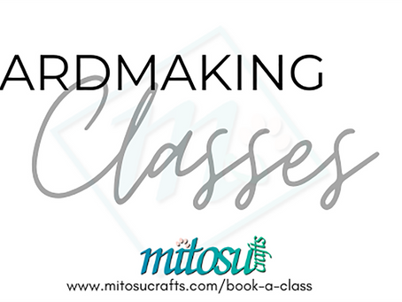 Stampin' Up! Classes with Mitosu Crafts and The Stamping Nook in February 2021