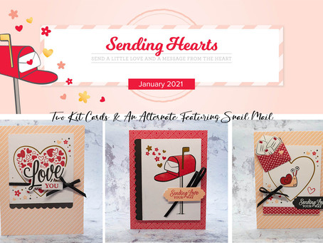 Stampin' Up! January 2021 Sending Hearts Paper Pumpkin Blog Hop