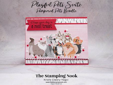 Stampin' Up! Pampered Pets Card for the Stampin' Dreams Blog Hop