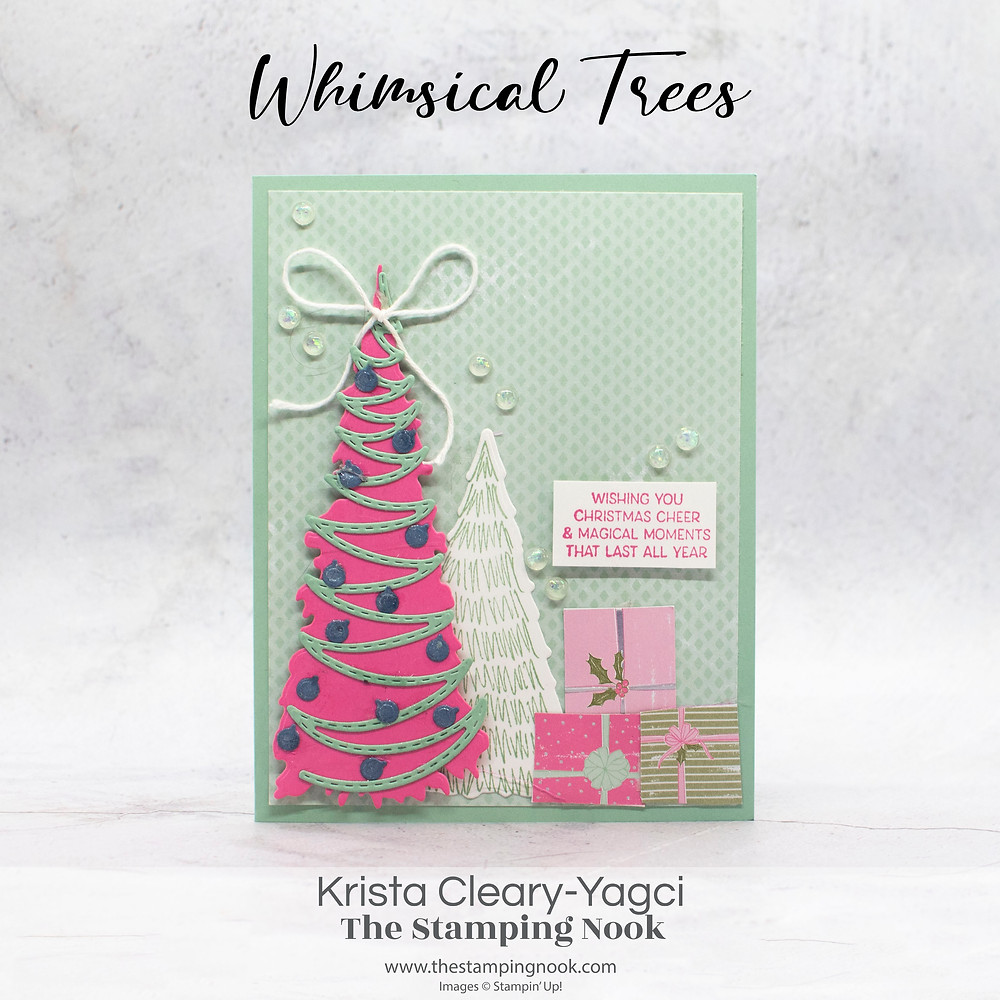 Stampin' Up! Card Ideas - Stampin Up Card Ideas - Stampin Up 2021-2022 - Stampin Up Whimsical Trees Cards - Whimsical Trees Cards Stampin Up - Whimsical Trees Stamp Set - The Stamping Nook - Krista Yagci - Color & Contour Stampin Up - Scalloped Contours Dies - Stampin Up Demonstrator - Stampin Up New Jersey - Stampin Up Pennsylvania