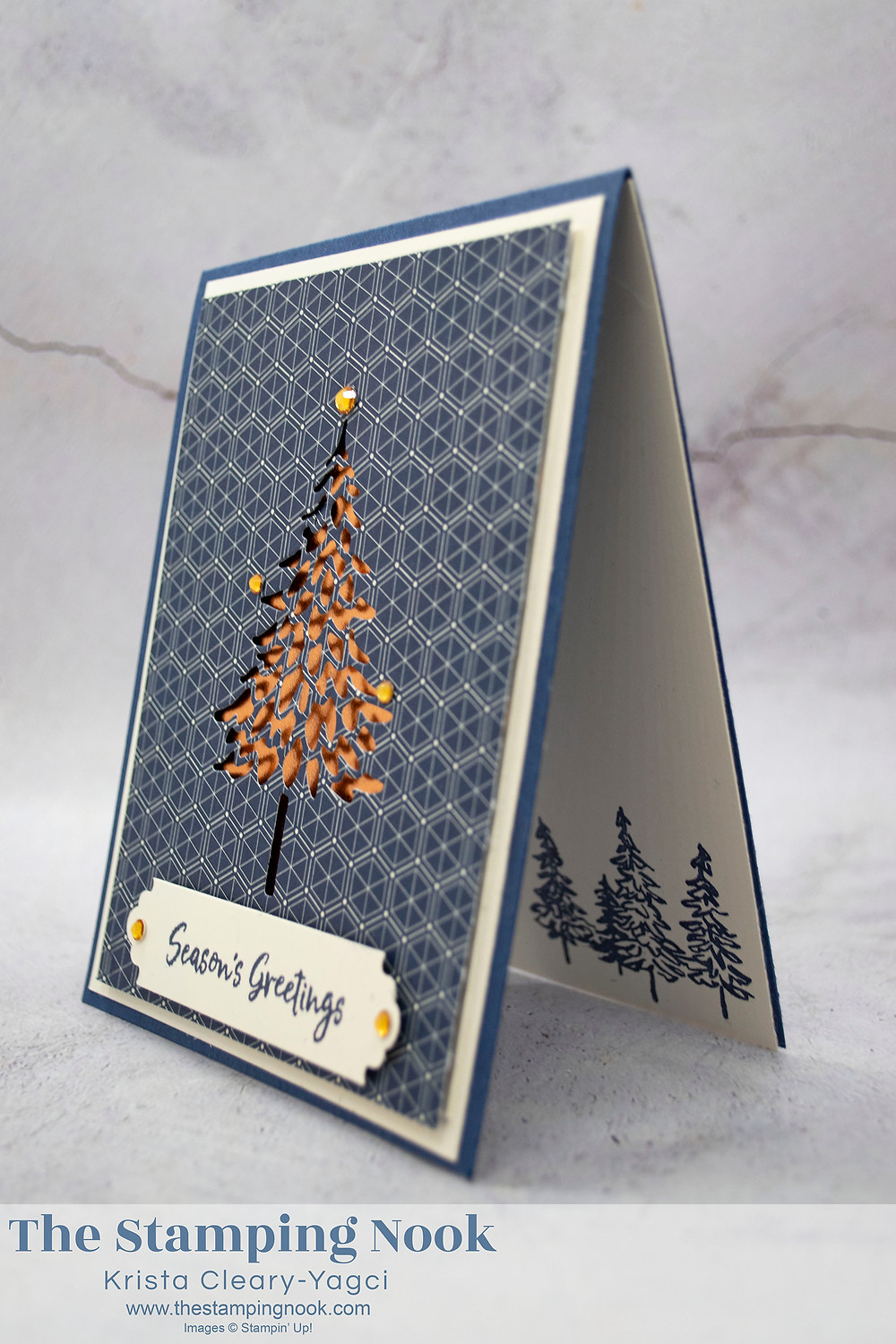 Stampin-Up-In-the-Pines-Seasons-Greetings-Christmas-Card-Krista-Cleary-Yagci-The-Stamping-Nook-2