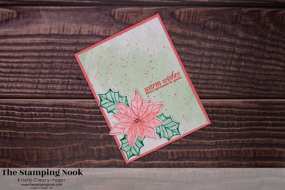 Stampin' Up! Poinsettia Petals Krista Cleary-Yagci The Stamping Nook-3