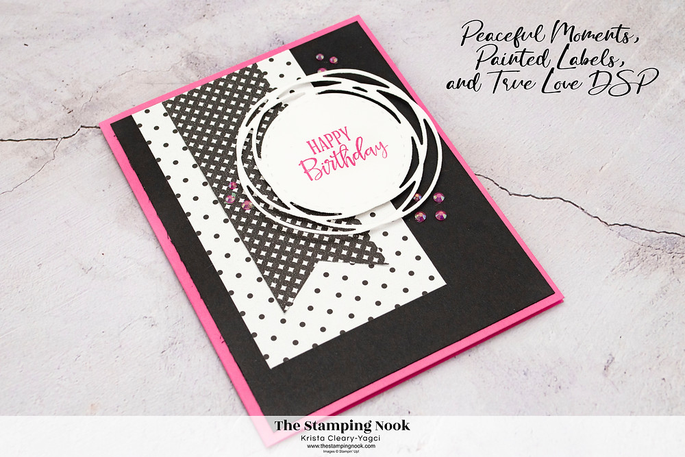Stampin' Up Peaceful Moments Card Ideas - Stampin' Up! True Love DSP - Stampin' Up! 2021-2023 In Colors - Stampin' Up! Sneak Peak - The Stamping Nook - Krista Yagci
