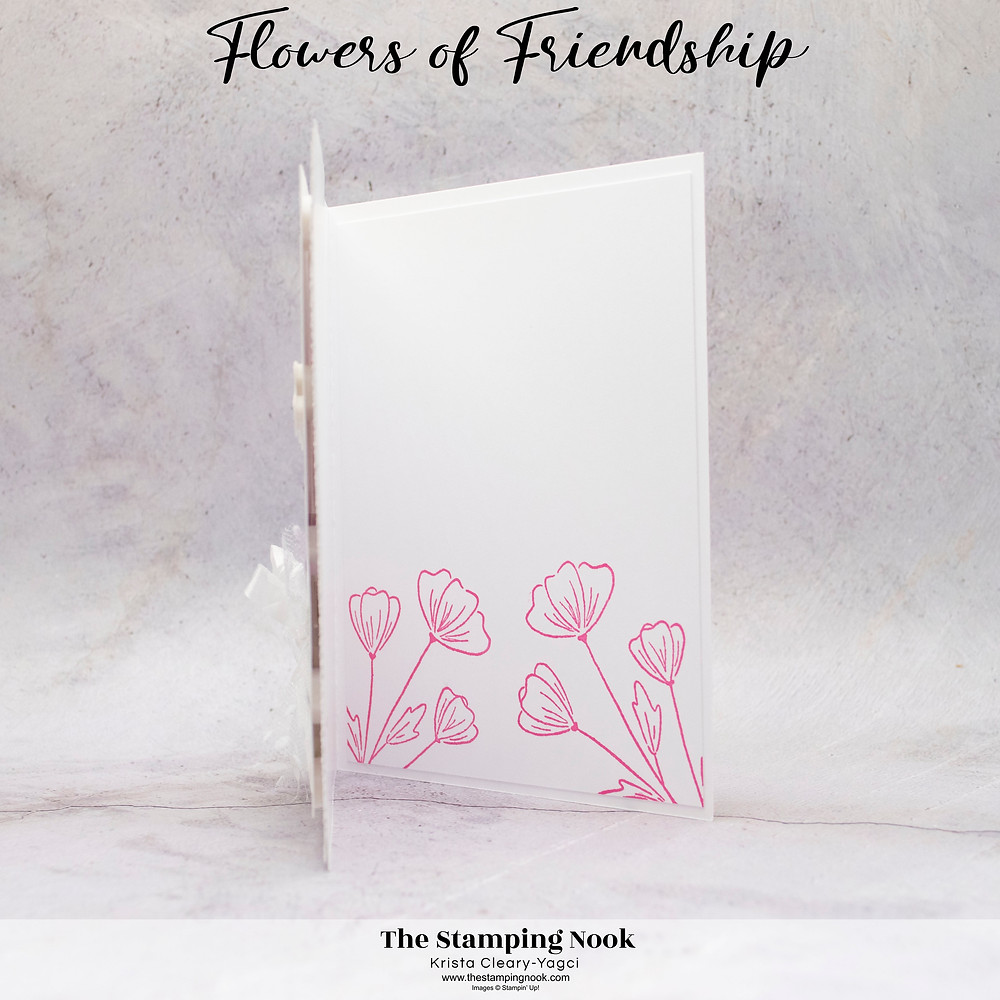 Stampin' Up! Card Ideas - Stampin Up Card Ideas – Flowers of Friendship Stamp Set – Flowers of Friendship Card Ideas – Flowers of Friendship Stampin Up – Stampin Up Flowers of Friendship Cards –  Flowers of Friendship Card Ideas Stampin Up Catalog – Stampin' Up! 2021-2022 Annual Catalog Sneak Peak - The Stamping Nook - Krista Cleary-Yagci – Stampin' Up! Demonstrator – Stampin Up Pennsylvania – Stampin Up New Jersey