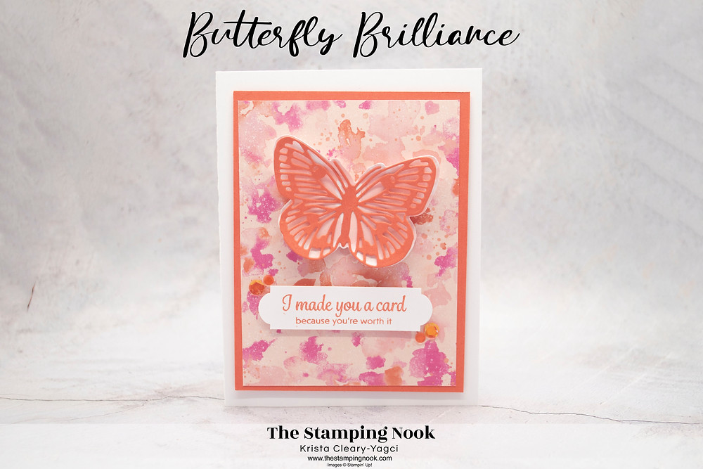 Stampin' Up! Card Ideas - Stampin Up Card Ideas – Butterfly Brilliance Stamp Set – Butterfly Brilliance Card Ideas – Butterfly Brilliance Stampin Up – Stampin Up Butterfly Brilliance Cards - Stampin Up Mini Catalog - The Stamping Nook - Krista Cleary-Yagci