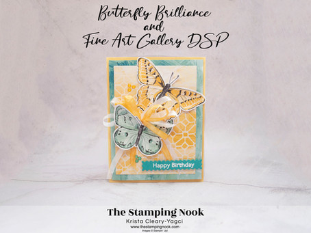 Stampin' Up! Butterfly Brilliance Card Ideas