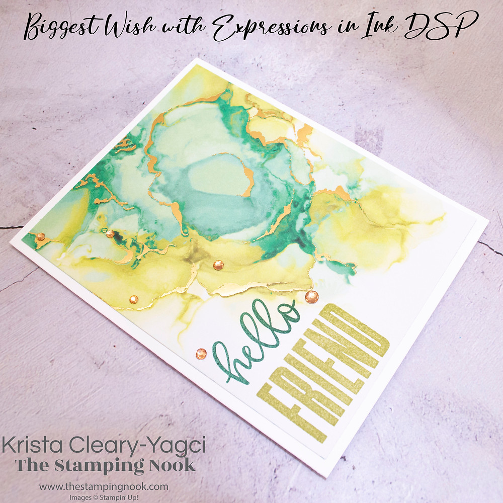 Stampin' Up! Card Ideas - Stampin Up Card Ideas - Best Wishes Stamp Set - Best Wishes Card Ideas - Best Wishes Stampin Up - Stampin Up Best Wishes  - Stampin Up Cards  - Best Wishes Stamp Set - Best Wishes Card Ideas - Best Wishes Stampin Up - Stampin Up Best Wishes - The Stamping Nook - Krista Cleary-Yagci - Stampin' Up! Demonstrator - Stampin Up Pennsylvania - Stampin Up New Jersey
