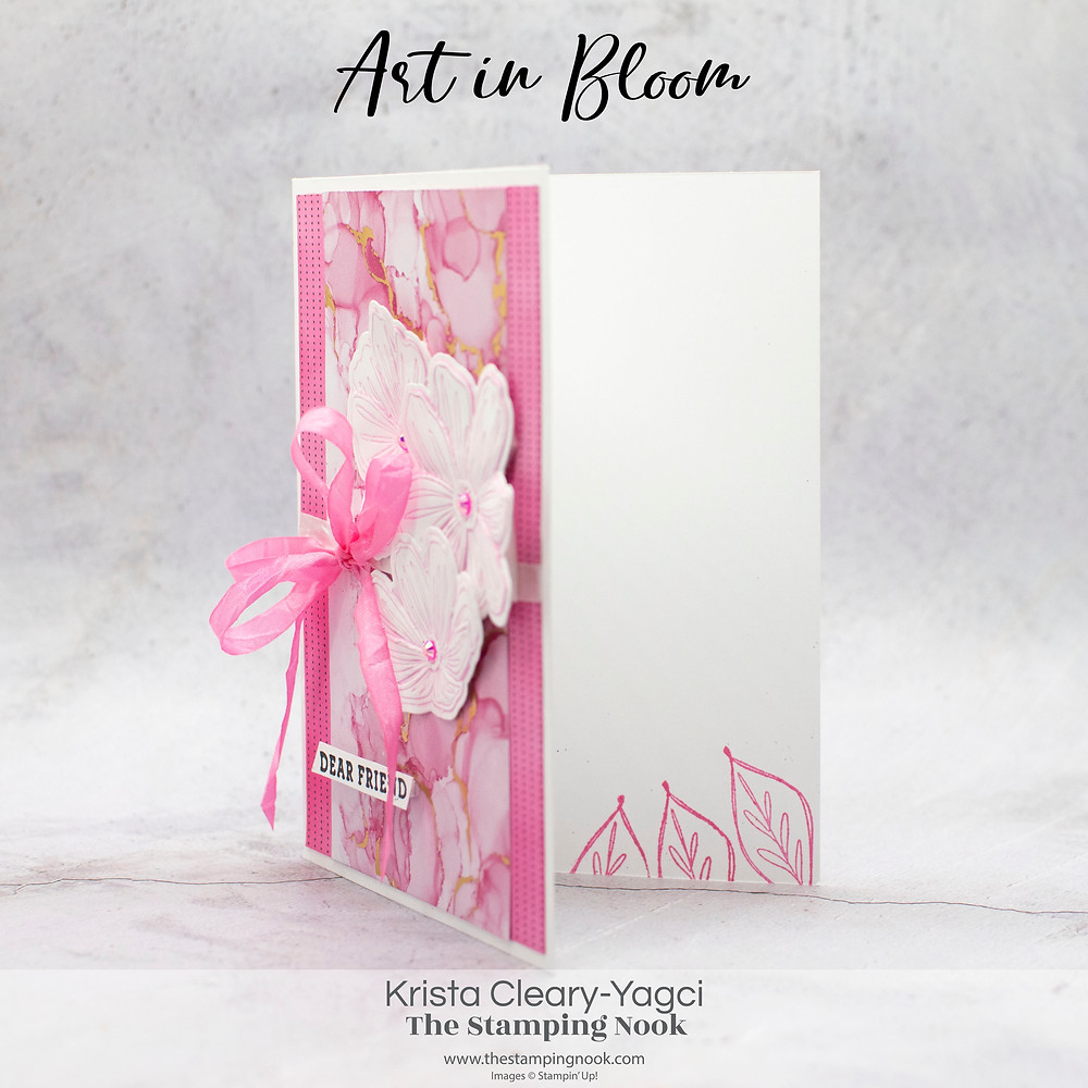 Stampin' Up! Card Ideas - Stampin Up Card Ideas - Art in Bloom Stamp Set - Art in Bloom Card Ideas - Art in Bloom Stampin Up - Stampin Up Art in Bloom  - Stampin Up Cards  - Art in Bloom Stamp Set - Art in Bloom Card Ideas - Art in Bloom Stampin Up - Stampin Up Art in Bloom - The Stamping Nook - Krista Cleary-Yagci - Stampin' Up! Demonstrator - Stampin Up Pennsylvania - Stampin Up New Jersey