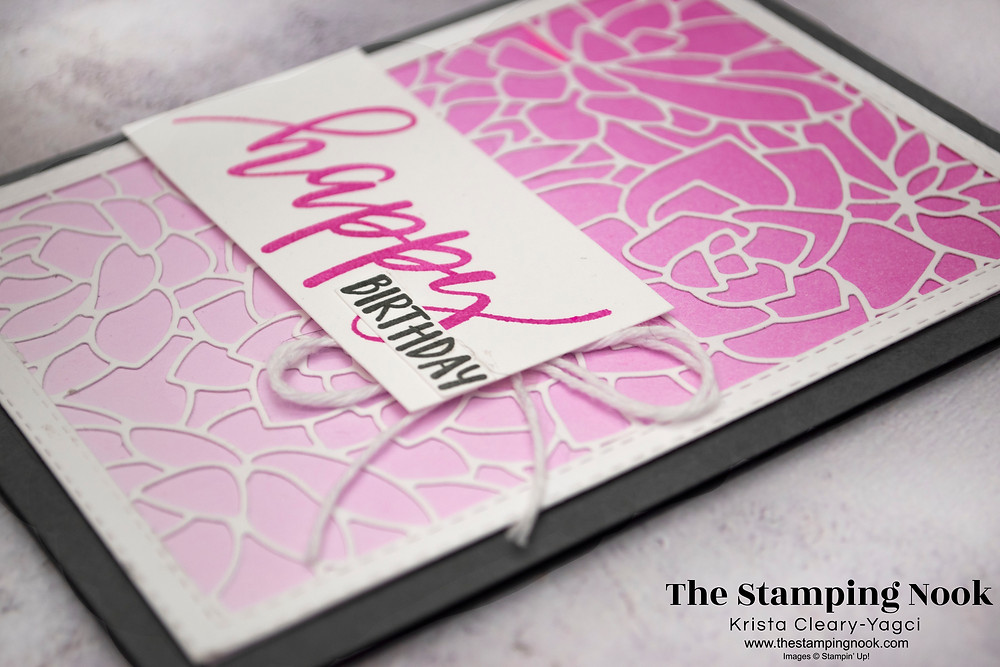 Stampin' Up! Card Ideas - Stampin Up Card Ideas – Simply Succulents Stamp Set – Simply Succulents Card Ideas – Simply Succulents Stampin Up – Stampin Up Simply Succulents Cards –  Simply Succulents Card Ideas Stampin Up Catalog – Use Your DSP Series - The Stamping Nook - Krista Cleary-Yagci – Stampin' Up! Demonstrator – Stampin Up Pennsylvania – Stampin Up New Jersey
