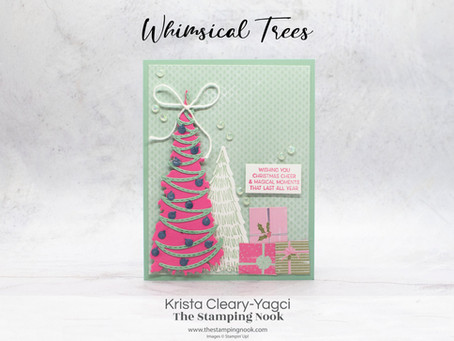 Stampin' Up! Whimsical Trees Christmas Cheer Card