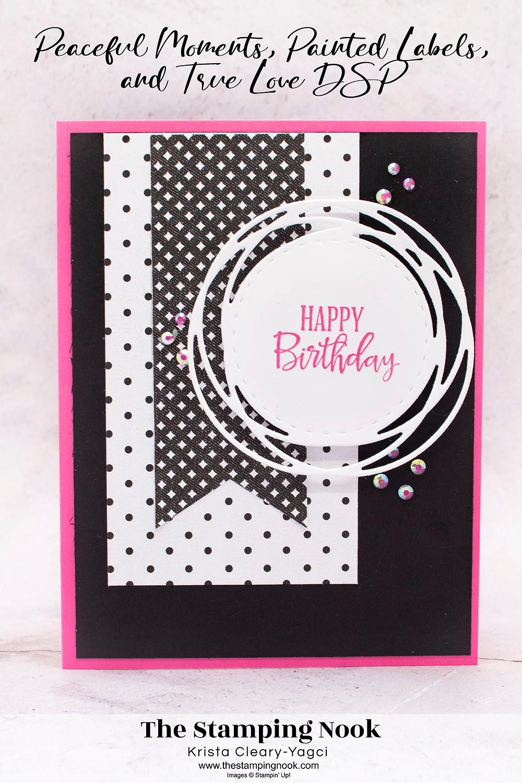 Stampin' Up Peaceful Moments Card Ideas - Stampin' Up! True Love DSP - Stampin' Up! 2021-2023 In Colors - Stampin' Up! Sneak Peak - The Stamping Nook - Krista Yagci