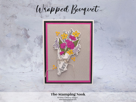 Stampin' Up! Wrapped Bouquet Mother's Day Card