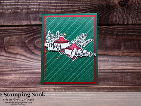 Stampin' Up! Tag Buffet Merry Christmas Card