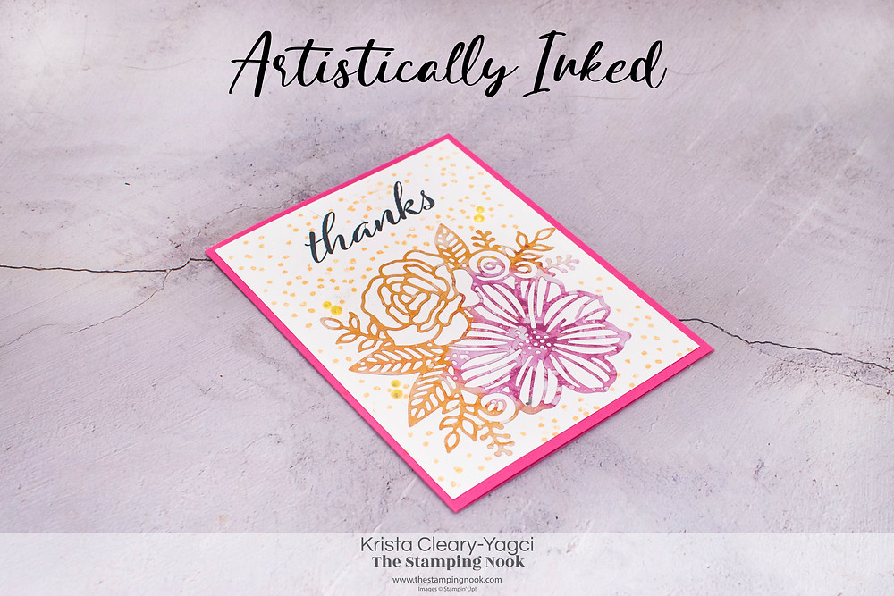 Stampin' Up! Card Ideas - Stampin Up Card Ideas - Artistically Inked Stamp Set - Artistically Inked Card Ideas - Artistically Inked Stampin Up - Stampin Up Artistically Inked  - Stampin Up Cards  - The Stamping Nook - Krista Cleary-Yagci - Stampin' Up! Demonstrator - Stampin Up Pennsylvania - Stampin Up New Jersey