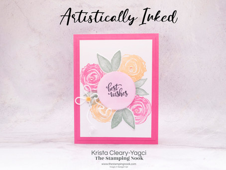 Stampin' Up! Artistically Inked Card for the Crafty Collaborations Blog Hop