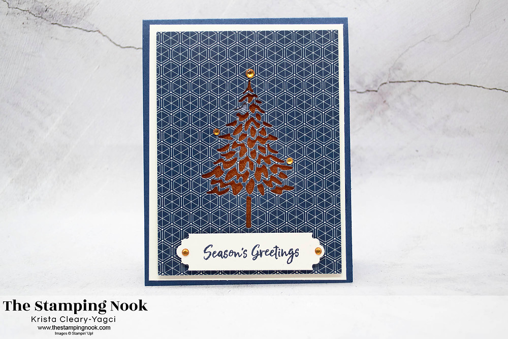 Stampin-Up-In-the-Pines-Seasons-Greetings-Christmas-Card-Krista-Cleary-Yagci-The-Stamping-Nook-1