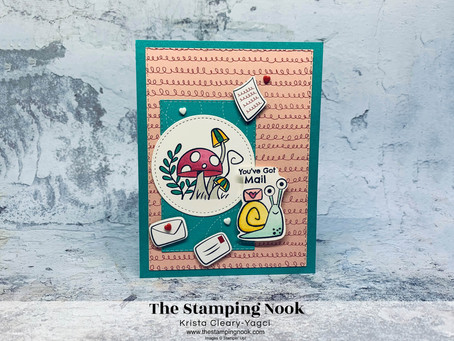 Stampin' Up! Snailed It Card - Snail Mail Suite