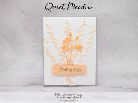 Stampin' Up! Quiet Meadow Thinking of You Card for the Cards for Kindness Initiative
