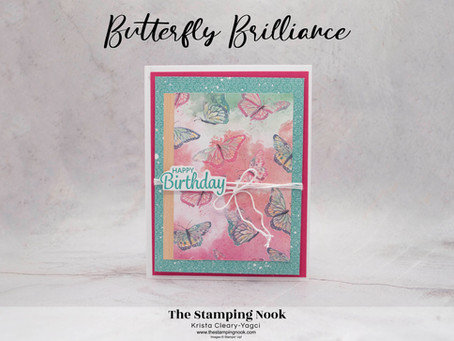 Stampin' Up! Butterfly Brilliance and Here's a Card Birthday Card
