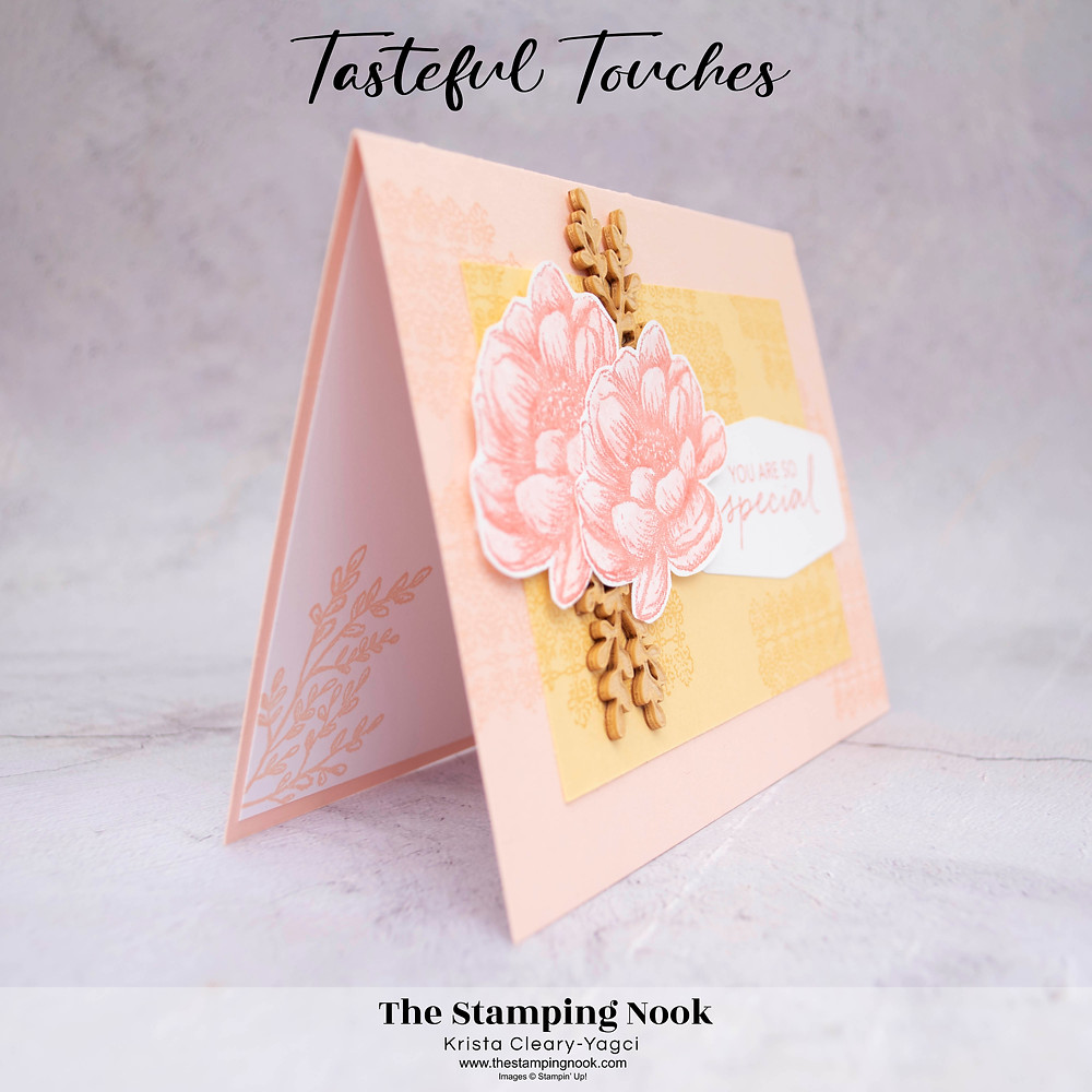 Stampin' Up! Tasteful Touches Card Ideas - In Good Taste - The Stamping Nook -- Krista Cleary-Yagci