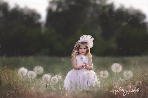 On Sale! Digital Backdrop/Digital Background/Giant Dandelion/PSD Dandelion Overl