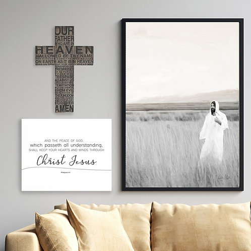 Watchman - Jesus Christ Fine Art Printable - Christ Art - LDS Art