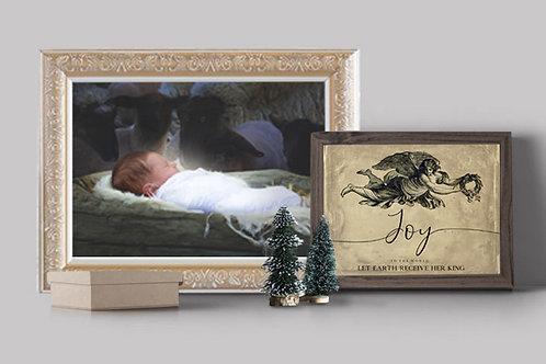 Christmas Art - Jesus Art - Nativity Art - LDS Art - Instant Download