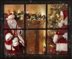 christmas window web